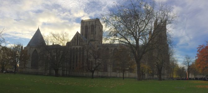 A lovely day out for Beth's Graduation at York Minster
